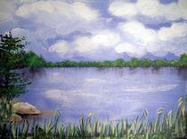 Sommertag am See von Kathrin Körner
