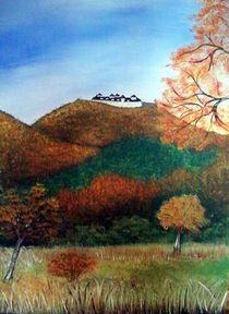 Augustusburg im Herbst von Kathrin Körner