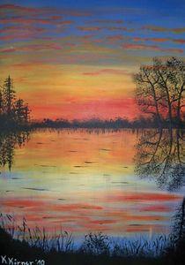 Sonnenuntergang von Kathrin Körner