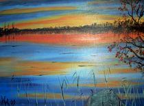 ein Abend am See by Kathrin Körner