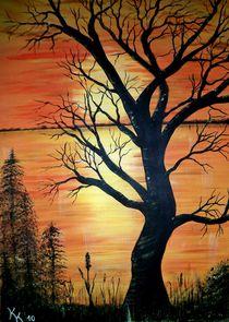 Herbstabend 2 von Kathrin Körner