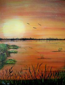 Abendsonne von Kathrin Körner