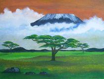 Kilimandscharo by Jürgen Lang