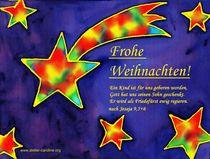 Weihnachtskarte -  Friedefürst