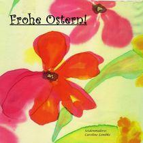 Osterkarte - Frühlingsblumen von carolinelembke