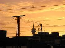 Mein Ruhrgebiet - Bochum Abendstimmung von Andreas Franke