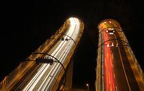 night ride through the tunnel von lichtmalerin
