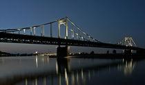 Rheinbrücke Uerdingen by Dieter Veselic
