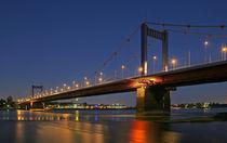 Rheinbrücke Duisburg von Dieter Veselic