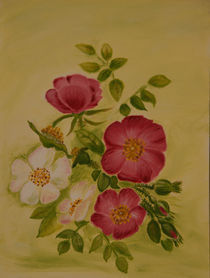 Wildrosen by Monika Sibylle Veres