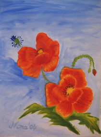 Mohnblüten by Monika Sibylle Veres