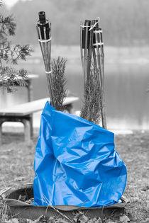 Blauer Sack von Angelika Wiedemeyer