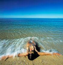 Akt am Strand von Rainer Elpel