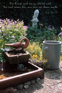Gartenidylle von Rainer Elpel