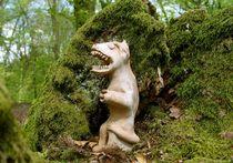 Azteken Figur im Wald-Schrein von Andreas Deutschmann