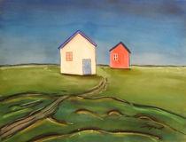 Weisses und roten Haus von Thomas Spyra