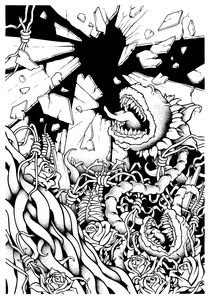 Attack of the mutant meatballs von Pedro Henriques