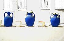 Blau-Weiss von Andreas Meer