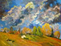 Der Weinberg im Herbst by Andreas Abel