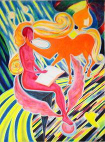 Dichterin und Kentaur von Andreas Abel