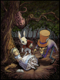 "Alice in Wonderland by Manuel ""lolo"" Guzman"