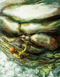 "Rock climber by Manuel ""lolo"" Guzman"