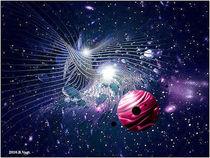 Cosmos abstraktos by Bernd Vagt