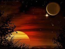 Sonne, Venus, Mond. von Bernd Vagt
