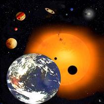 Unser Sonnensystem. von Bernd Vagt