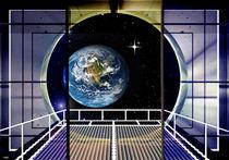 Panoramafenster zur Erde. von Bernd Vagt