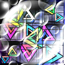 X - dimensionale geometrische Fraktale. (Abstrakt) by Bernd Vagt