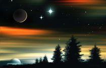 Fantastischer Himmel. von Bernd Vagt