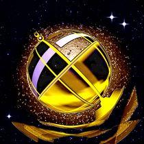 Golden celestial globe. by Bernd Vagt