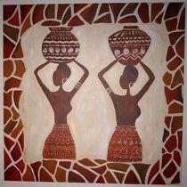 Afrika III von Sonja Blügel