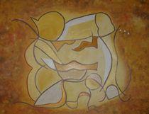 Vier Jahreszeiten gelb von Sonja Blügel
