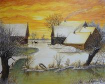 Winter auf dem Land von Jürg Meyerholz