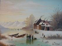 Winterspaß vor den Toren der Stadt von Jürg Meyerholz