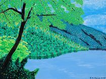 Waldsee von Tirza Marie Falck