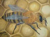 Honigbiene von Jürg Meyerholz