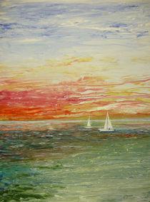 Auf dem Meer von Jürg Meyerholz