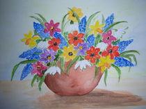 Blumenvase  von Edda Hasse