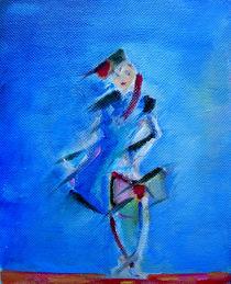 Blue Fashion by Irina Torres