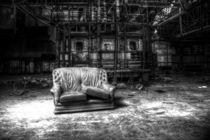 Deplatziertes Sofa by Martin Lang