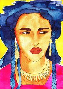 Tuareg Woman von michaba