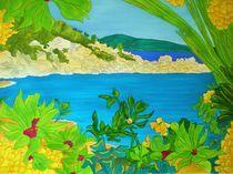tropische Bucht von michaba