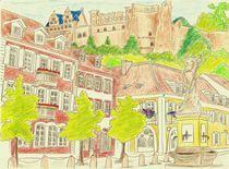 Heidelberg Kornmarkt von michaba