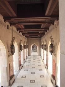 Sultan-Qabus-Moschee,Bogengang,Sultanat von Oman von Willy Matheisl