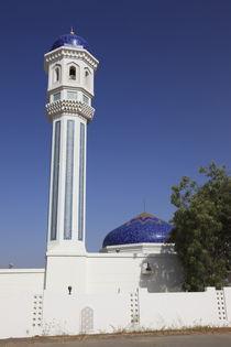 Minarett und Moschee im Sultanat Oman, Asien von Willy Matheisl