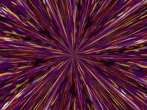 Edelmetall auf lila by artmagic