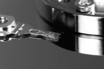 Festplatte statisch sw by macropolis